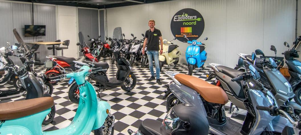 Showroom EscootersNoord