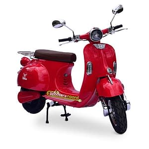 Rode Etalian elektrische scooter