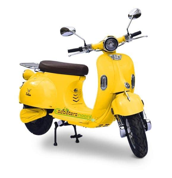 Gele Etalian elektrische scooter