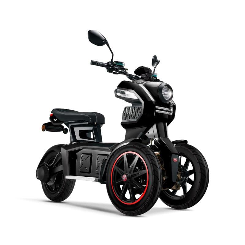 Zwarte Doohan iTank elektrische driewieler
