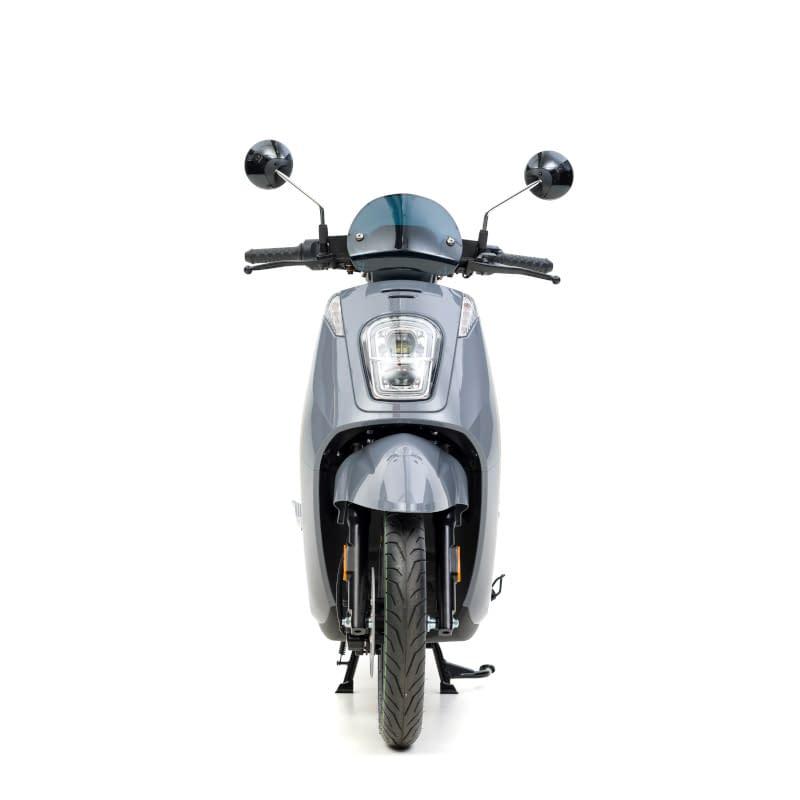 Voorkant grijze E-Viball e-scooter