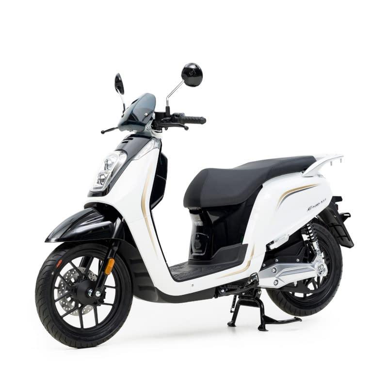 Zijkant witte E-Viball e-scooter