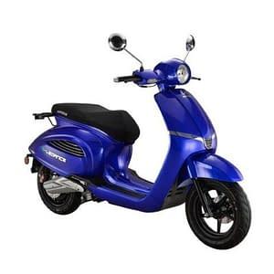E-legance elektrische scooter donkerblauw