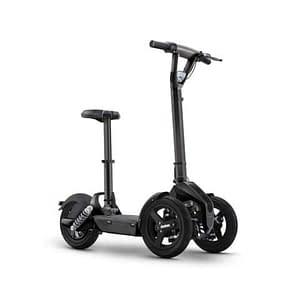 Zwarte Doohan iLark elektrische driewieler