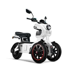 Witte Doohan iTank elektrische driewieler