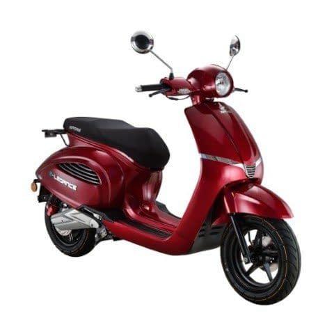 escooter Elegance rood metallic