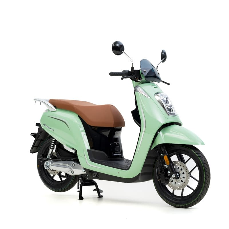 Groene E-Viball elektrische scooter