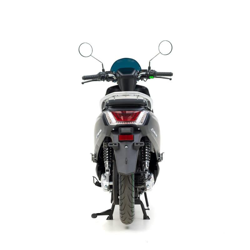Achterkant E-Viball scooter matzwart