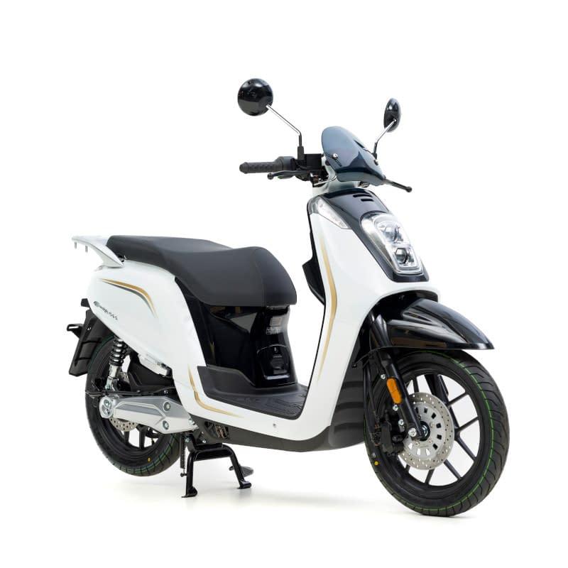 Witte E-Viball elektrische scooter