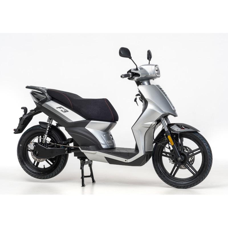 Grijze F3 elektrische scooter