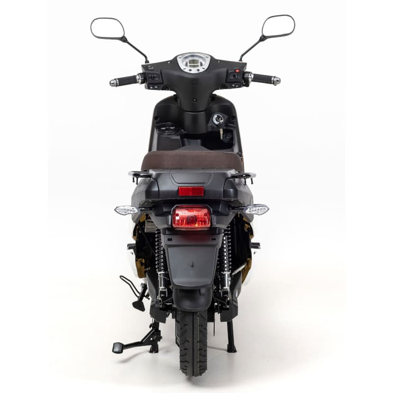 Achterkant F7 scooter wit